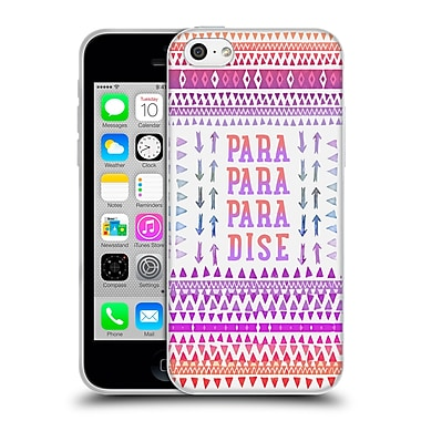 Official Monika Strigel Happy Quote Paradise Soft Gel Case For Apple Iphone 5C