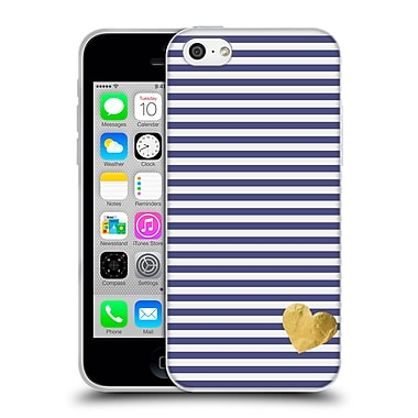 Official Monika Strigel Little Heart Blue Soft Gel Case For Apple Iphone 5C