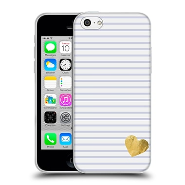 Official Monika Strigel Little Heart Lavender Soft Gel Case For Apple Iphone 5C