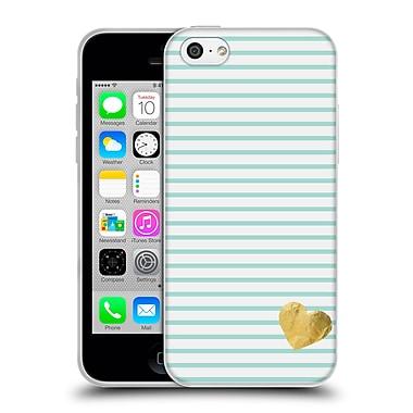 Official Monika Strigel Little Heart Mint Soft Gel Case For Apple Iphone 5C