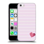 Official Monika Strigel Little Heart Pink Soft Gel Case For Apple Iphone 5C
