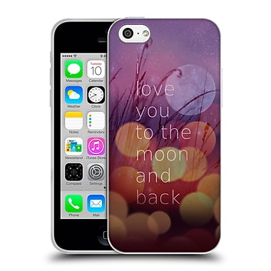 Official Monika Strigel Love Quote Light Soft Gel Case For Apple Iphone 5C