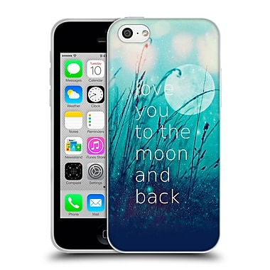 Official Monika Strigel Love Quote Mint Soft Gel Case For Apple Iphone 5C