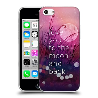 Official Monika Strigel Love Quote Pink Soft Gel Case For Apple Iphone 5C