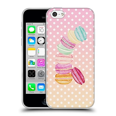 Official Monika Strigel Macarons Candy Soft Gel Case For Apple Iphone 5C
