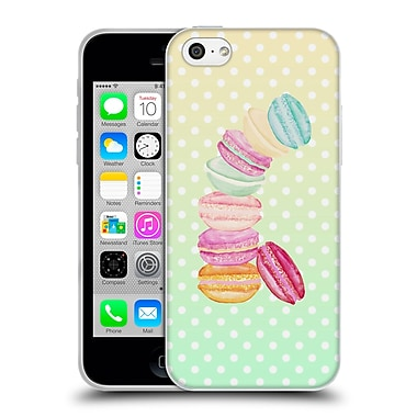 Official Monika Strigel Macarons Spring Soft Gel Case For Apple Iphone 5C