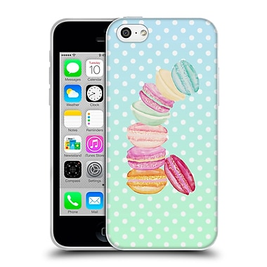 Official Monika Strigel Macarons Summer Soft Gel Case For Apple Iphone 5C