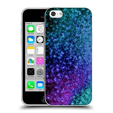 Official Monika Strigel Magic Lights Purple Soft Gel Case For Apple Iphone 5C