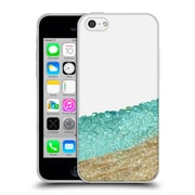 Official Monika Strigel Pretty Covered Mint Gold Soft Gel Case For Apple Iphone 5C