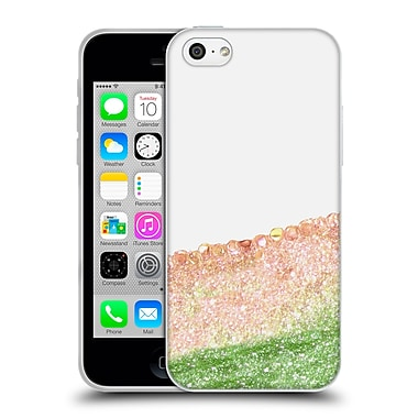 Official Monika Strigel Pretty Covered Peach Soft Gel Case For Apple Iphone 5C