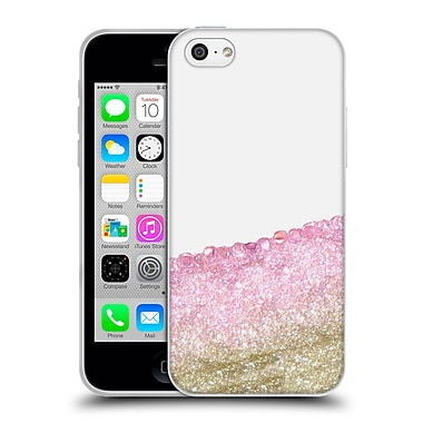 Official Monika Strigel Pretty Covered Pink Gold Soft Gel Case For Apple Iphone 5C