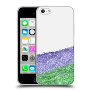 Official Monika Strigel Pretty Covered Purple Soft Gel Case For Apple Iphone 5C