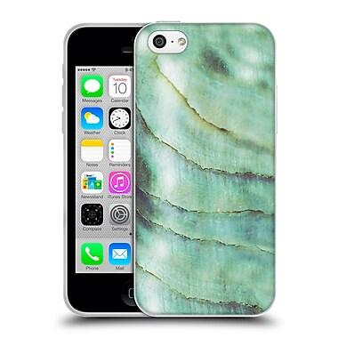 Official Monika Strigel Pastel Seashell Emerald Soft Gel Case For Apple Iphone 5C
