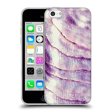 Official Monika Strigel Pastel Seashell Lavander Soft Gel Case For Apple Iphone 5C