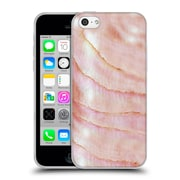 Official Monika Strigel Pastel Seashell Pink Coral Soft Gel Case For Apple Iphone 5C