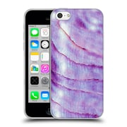 Official Monika Strigel Pastel Seashell Purple Soft Gel Case For Apple Iphone 5C