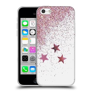 Official Monika Strigel Shaky Stars Pink Soft Gel Case For Apple Iphone 5C