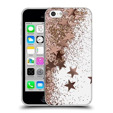 Official Monika Strigel Shaky Stars Rose Soft Gel Case For Apple Iphone 5C