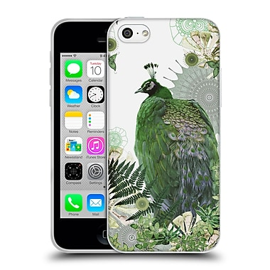 Official Monika Strigel Tropical Peacock Emerald Soft Gel Case For Apple Iphone 5C