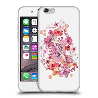 Official Monika Strigel Animals And Flowers Bird Soft Gel Case For Apple Iphone 6 / 6S