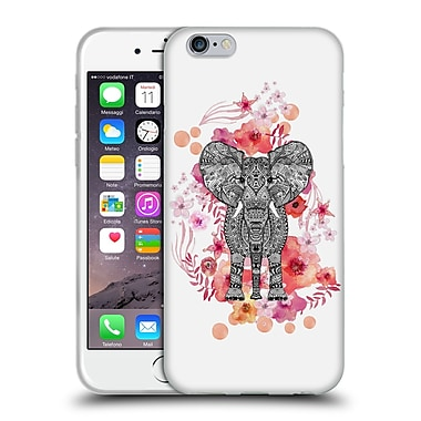 Official Monika Strigel Animals And Flowers Elephant Aztec Soft Gel Case For Apple Iphone 6 / 6S