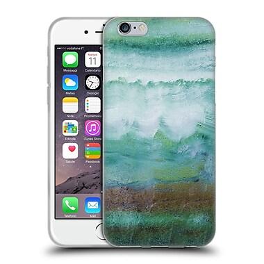 Official Monika Strigel Agate Gemstone Mint Soft Gel Case For Apple Iphone 6 / 6S