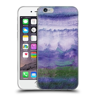 Official Monika Strigel Agate Gemstone Purple Soft Gel Case For Apple Iphone 6 / 6S