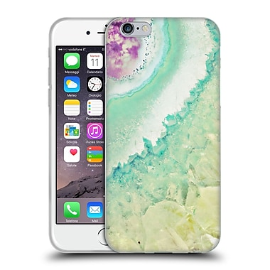 Official Monika Strigel Amethyst Gold Mint Soft Gel Case For Apple Iphone 6 / 6S