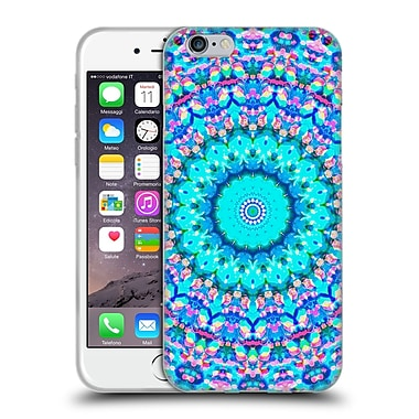 Official Monika Strigel Arabesque Aqua Soft Gel Case For Apple Iphone 6 / 6S