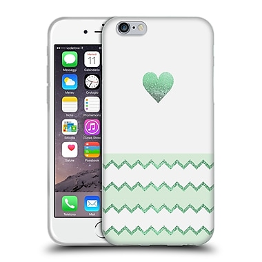 Official Monika Strigel Avalon Heart Green Soft Gel Case For Apple Iphone 6 / 6S