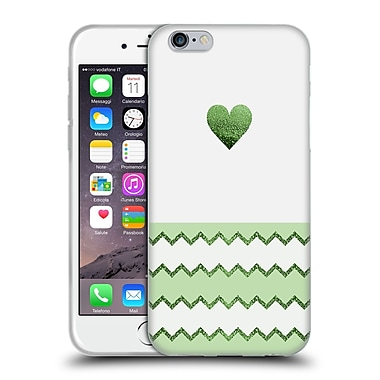 Official Monika Strigel Avalon Heart Lime Soft Gel Case For Apple Iphone 6 / 6S