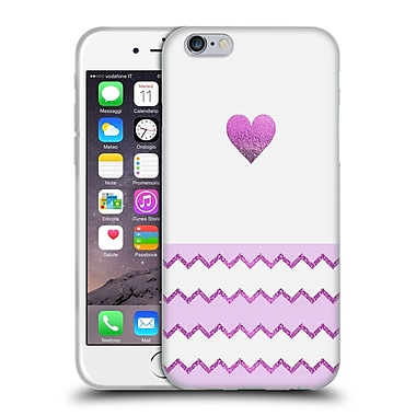 Official Monika Strigel Avalon Heart Purple Soft Gel Case For Apple Iphone 6 / 6S