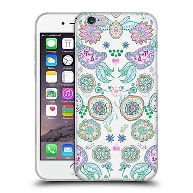Official Monika Strigel Bring Me Flowers Pink Soft Gel Case For Apple Iphone 6 / 6S