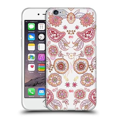 Official Monika Strigel Bring Me Flowers Pink 2 Soft Gel Case For Apple Iphone 6 / 6S