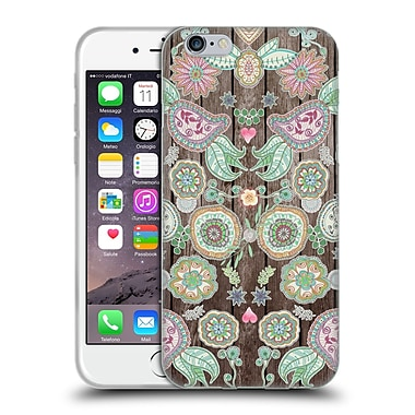 Official Monika Strigel Bring Me Flowers 3 Boho Soft Gel Case For Apple Iphone 6 / 6S