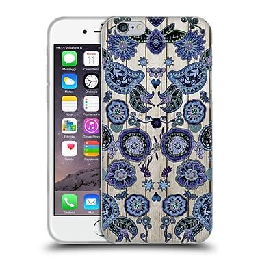 Official Monika Strigel Bring Me Flowers 3 Dark Blue Soft Gel Case For Apple Iphone 6 / 6S