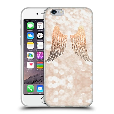 Official Monika Strigel Champagne Gold Wings Soft Gel Case For Apple Iphone 6 / 6S