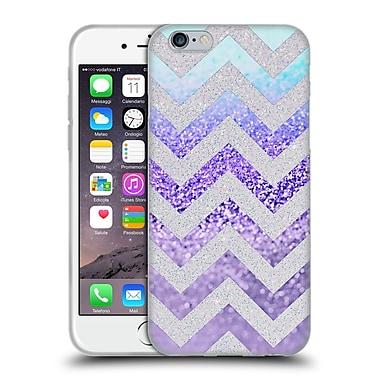 Official Monika Strigel Funky Chevron Plum Soft Gel Case For Apple Iphone 6 / 6S