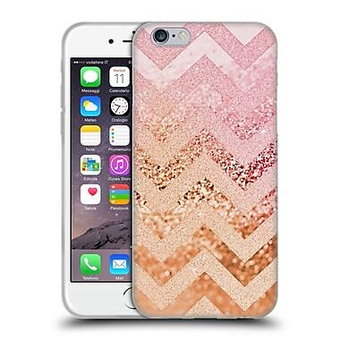 Official Monika Strigel Funky Chevron Strawberry Soft Gel Case For Apple Iphone 6 / 6S