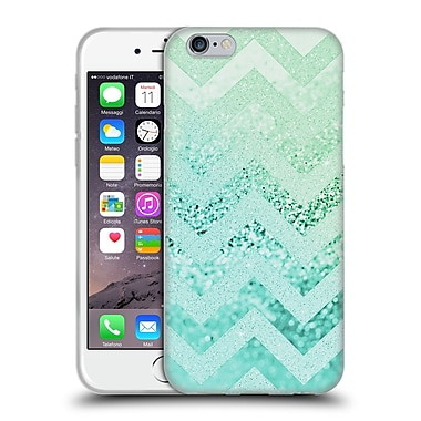 Official Monika Strigel Funky Chevron Waterfall Soft Gel Case For Apple Iphone 6 / 6S