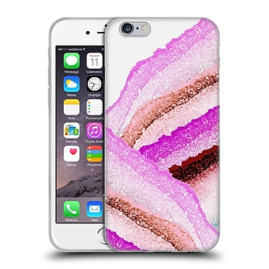 Official Monika Strigel Flawless Wraps Pink Berry Soft Gel Case For Apple Iphone 6 / 6S