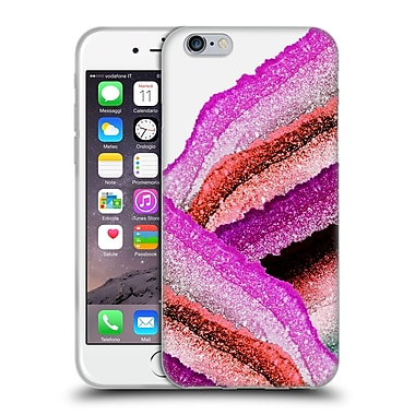 Official Monika Strigel Flawless Wraps Strawberry Soft Gel Case For Apple Iphone 6 / 6S