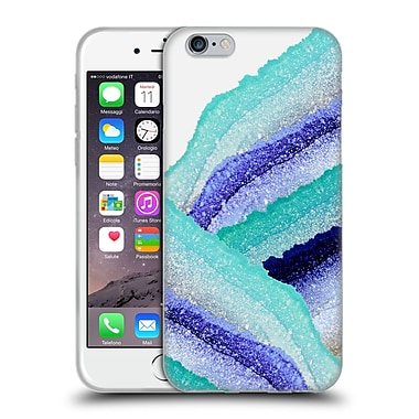 Official Monika Strigel Flawless Wraps Waves Soft Gel Case For Apple Iphone 6 / 6S