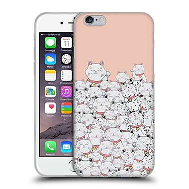 Official Monika Strigel Find The Panda Peach Soft Gel Case For Apple Iphone 6 / 6S