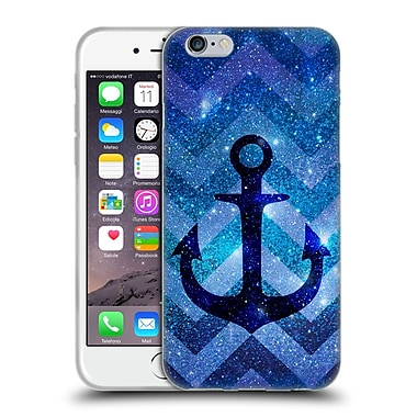 Official Monika Strigel Galaxy Anchors Blue Soft Gel Case For Apple Iphone 6 / 6S