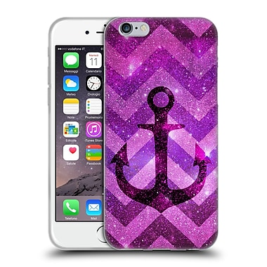 Official Monika Strigel Galaxy Anchors Lavender Soft Gel Case For Apple Iphone 6 / 6S