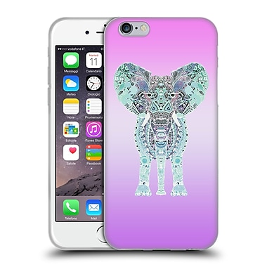 Official Monika Strigel Gypsy Elephant Lavender Soft Gel Case For Apple Iphone 6 / 6S