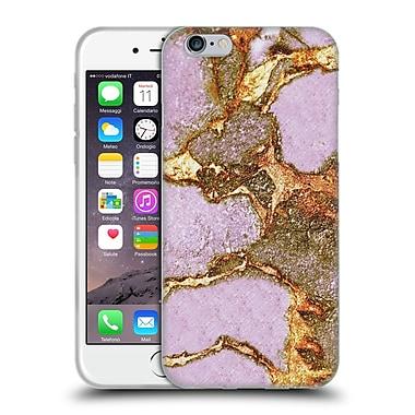 Official Monika Strigel Gemstone And Gold Rose Soft Gel Case For Apple Iphone 6 / 6S
