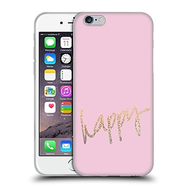 Official Monika Strigel Gold And Happy Pink Soft Gel Case For Apple Iphone 6 / 6S