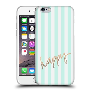 Official Monika Strigel Gold And Happy Pretty Soft Gel Case For Apple Iphone 6 / 6S